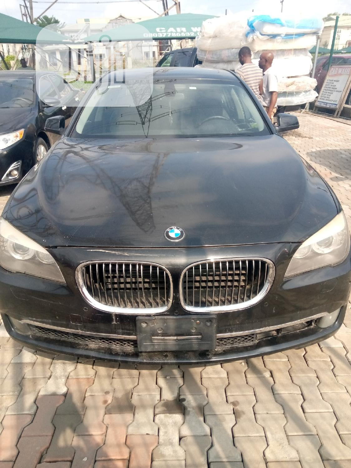 Bmw 7 Series 2010 Black In Ajah Cars Automobile Pappy Jiji Ng For Sale In Ajah Buy Cars From Automobile Pappy On Jiji Ng