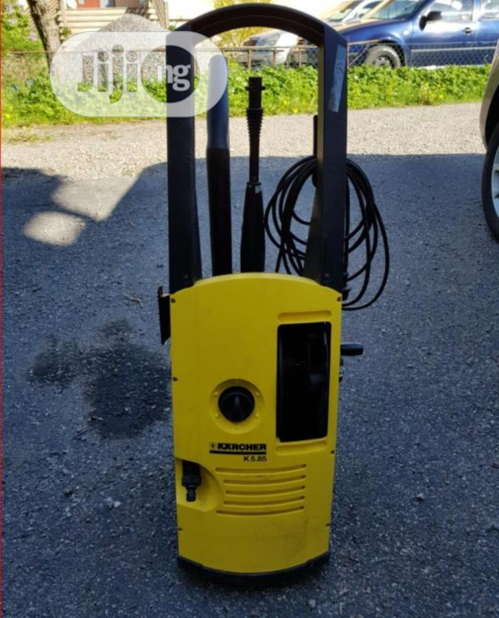Karcher K5.85 Pressure Washer With Digital Gun And Nozzles | Garden for sale in Ikeja, Lagos State, Nigeria