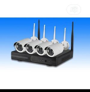WIFI 4ch Wireless Combo Kit 1080p Camera | Security & Surveillance for sale in Lagos State, Ikeja