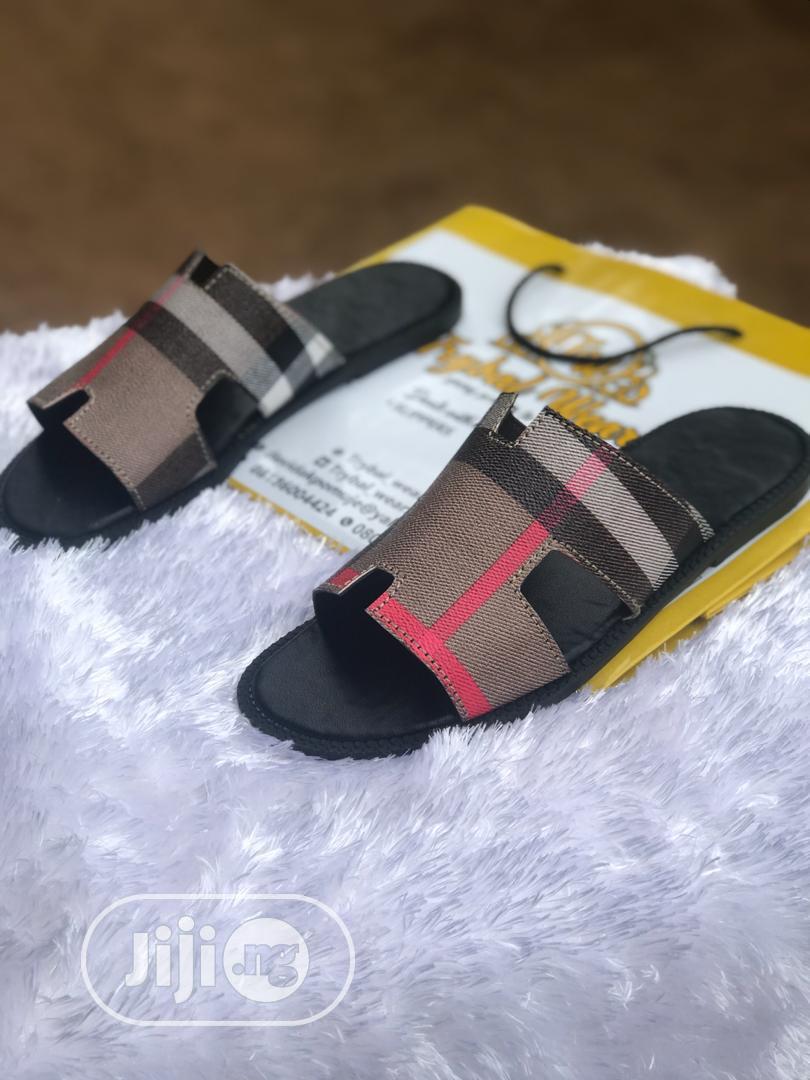 Burberry Hermes Slides
