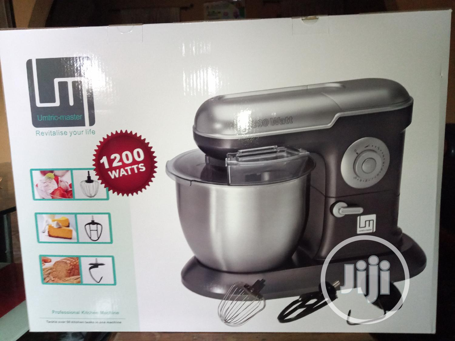 Umtric Master 7litres Stand Mixer,1200watts,10speed, Pulse.