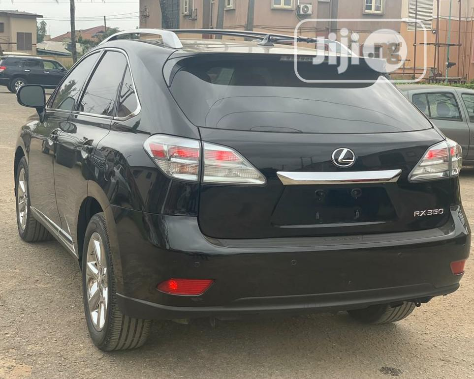 Lexus RX 2012 350 AWD Black | Cars for sale in Ikeja, Lagos State, Nigeria