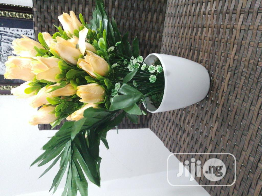 Artificial Potted Flower [High-Quality]