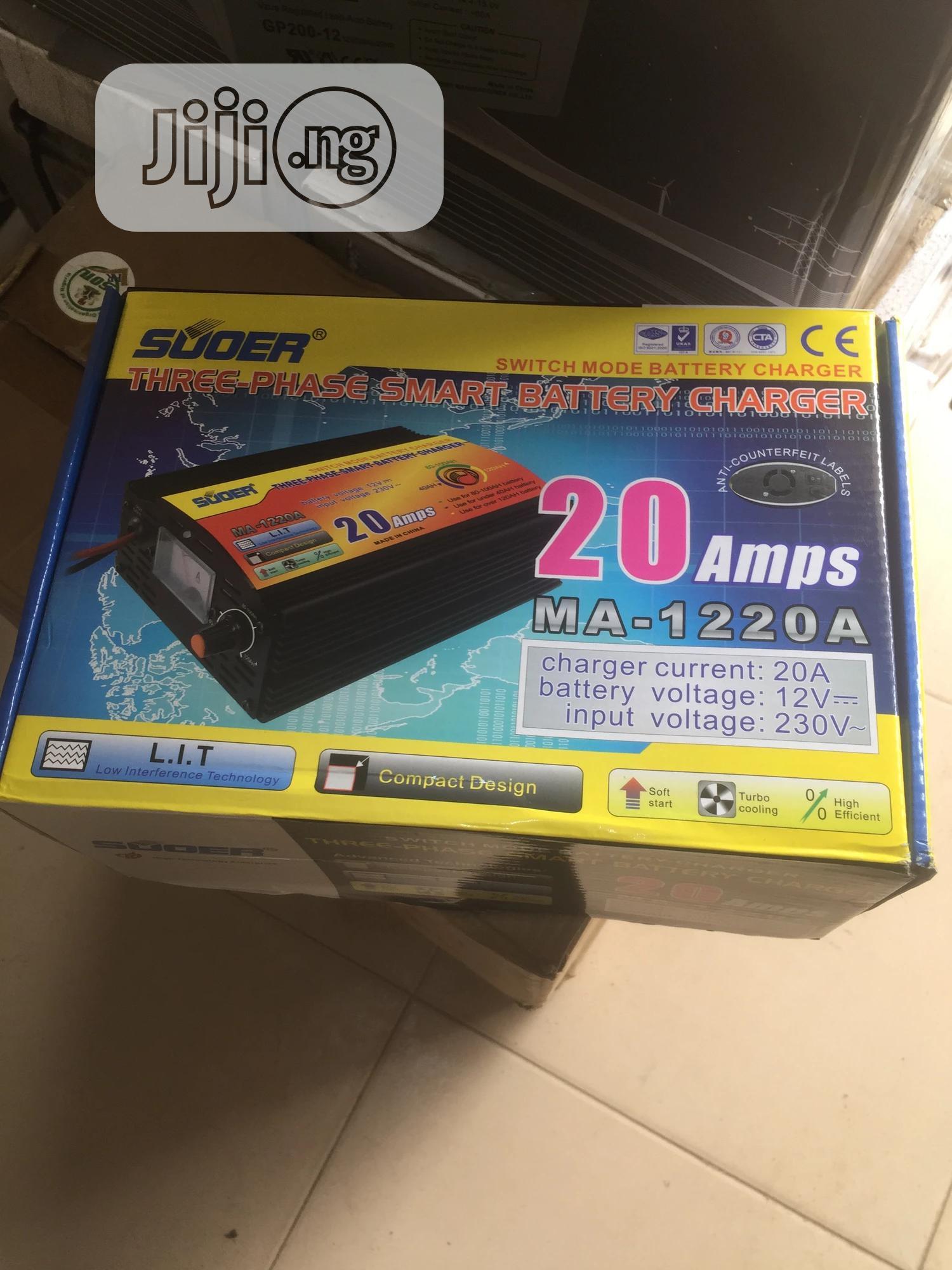 20ahs 12v Battery Charger