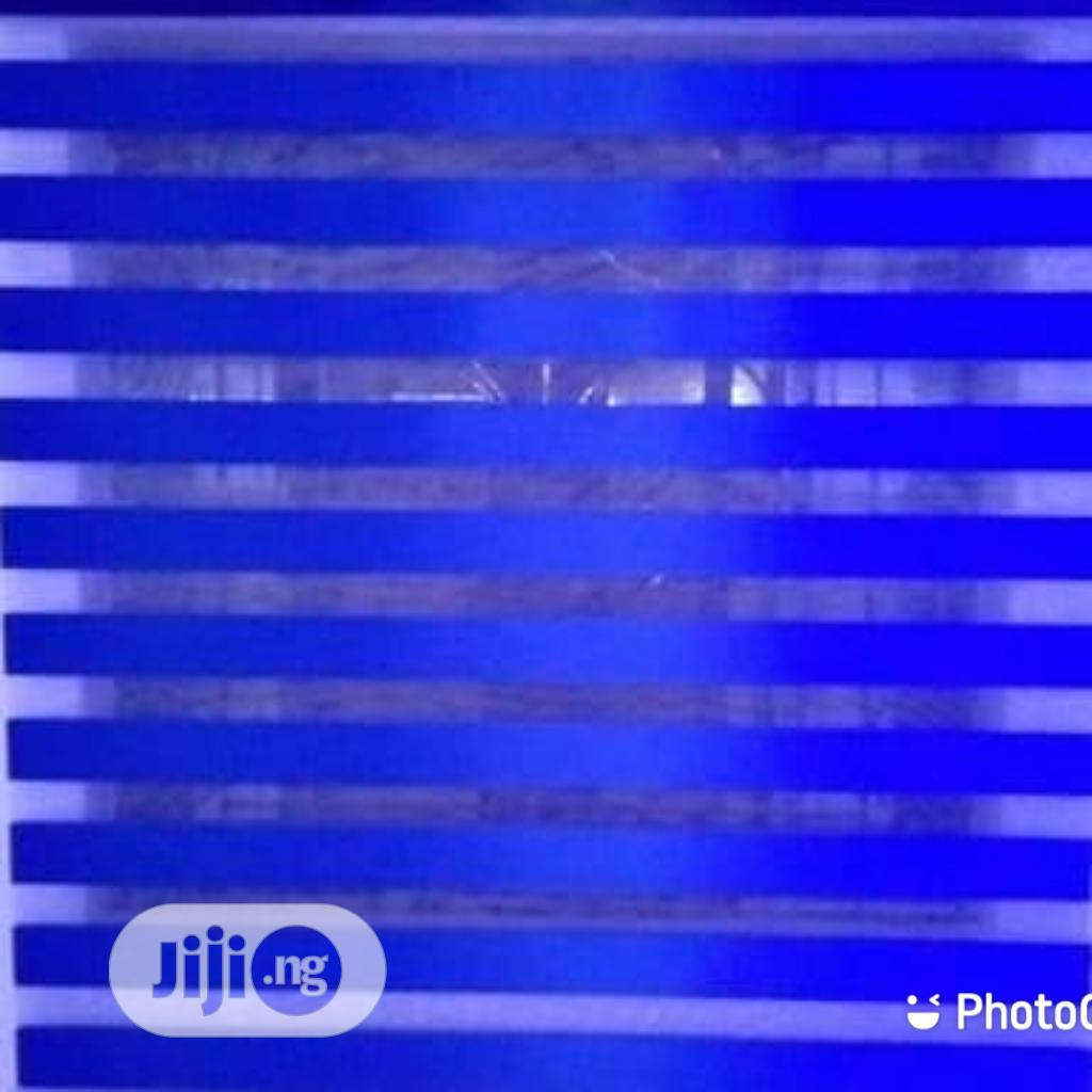 Quality Blue Day And Night Blinds