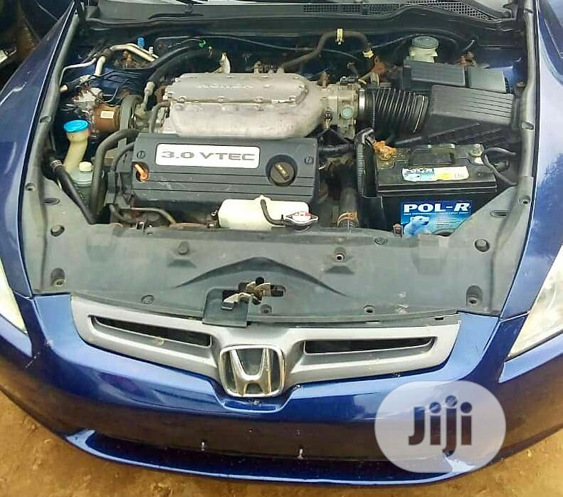 Honda Accord Automatic 2005 Blue   Cars for sale in Alimosho, Lagos State, Nigeria