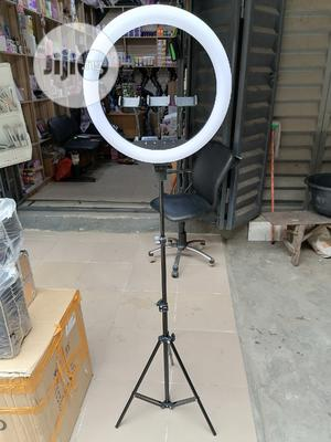18inches Soft Touch 3 Camera Holder Ringlight With USB | Accessories & Supplies for Electronics for sale in Lagos State, Amuwo-Odofin