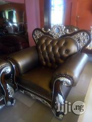 Kings Royal Italian Leather Sofa Model Egw 002   Furniture for sale in Lagos State, Ikoyi