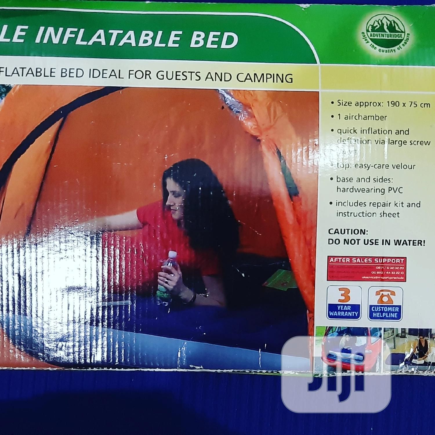 Uk Stock Single Inflatable Bed