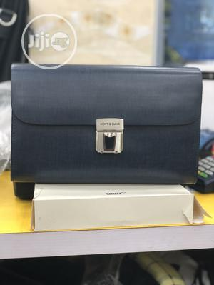 Mont Blanc Executive Leather Clutch Bag | Bags for sale in Lagos State, Lagos Island (Eko)