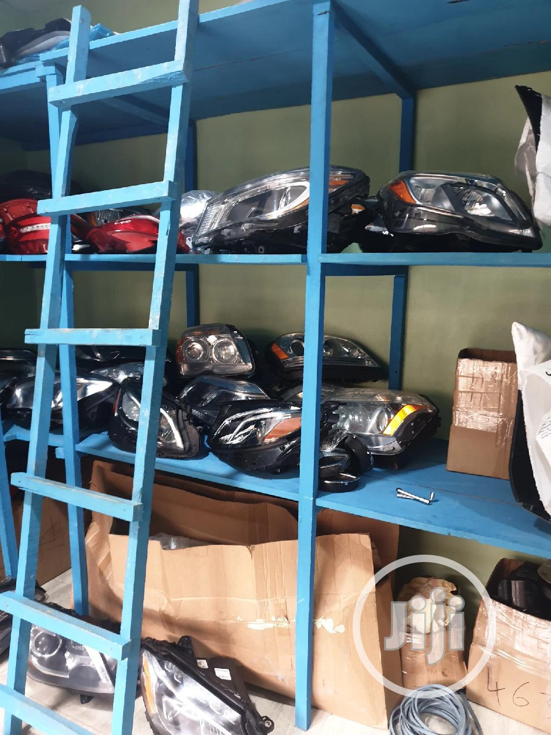 Mercedes Benz Headlamp And Rear Light | Vehicle Parts & Accessories for sale in Surulere, Lagos State, Nigeria