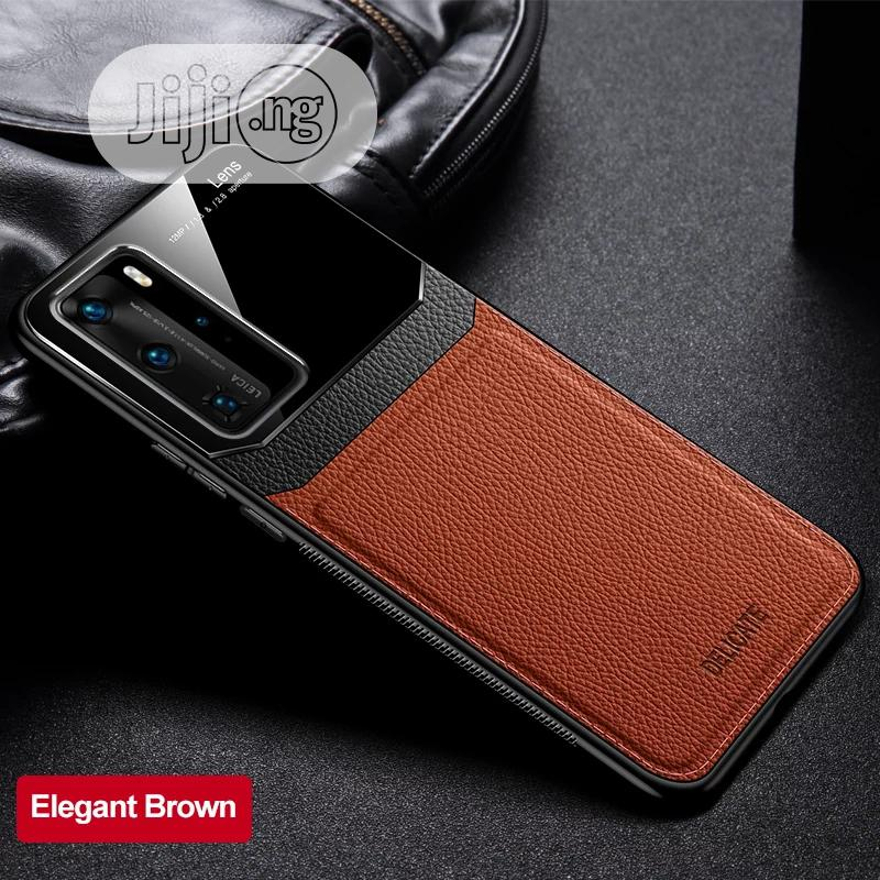 HUAWEI /SAMSUNG iPhone Leather Silicon Shockproof Case. | Accessories for Mobile Phones & Tablets for sale in Ojo, Lagos State, Nigeria