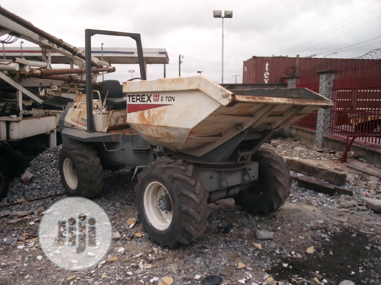 Archive: Terex Concrete Dumper 6 Tons 2002