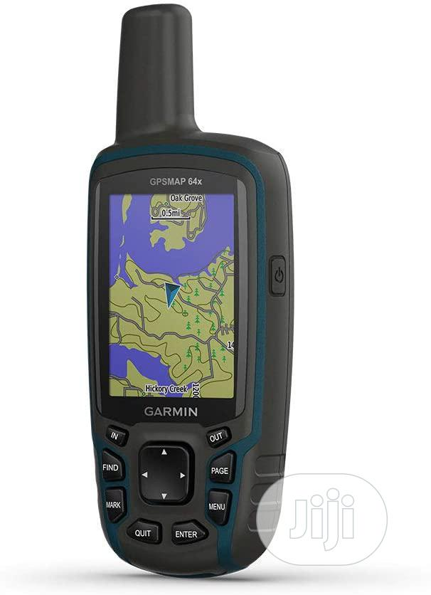 Garmin GPSMAP 64x, Handheld GPS, Preloaded With Topoactive M
