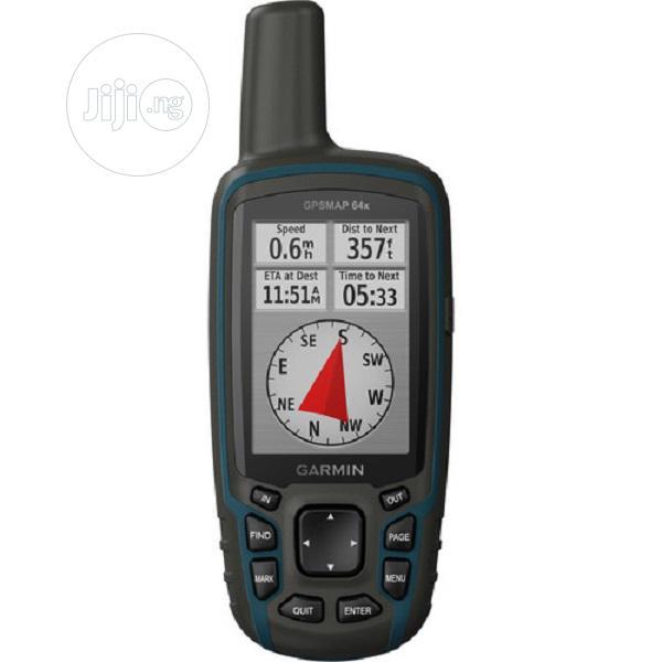 Garmin GPSMAP 64x, Handheld GPS, Preloaded With Topoactive M | Camping Gear for sale in Ikeja, Lagos State, Nigeria
