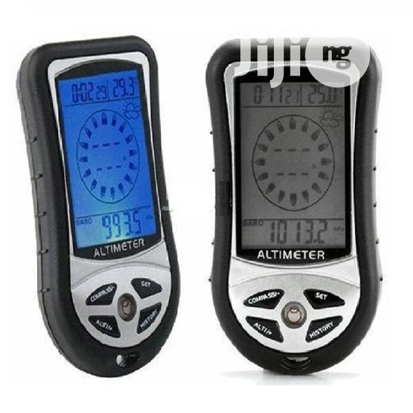 8 In 1 Digital LCD Compass Altimeter Barometer Device | Camping Gear for sale in Ikotun/Igando, Lagos State, Nigeria