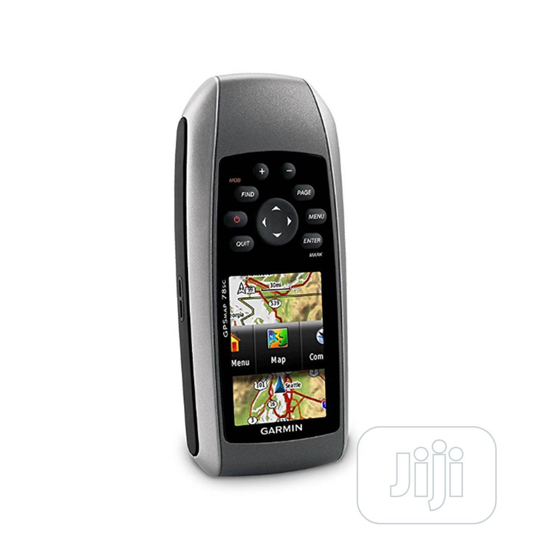 GARMIN GPSMAP 78sc Marine Handheld GPS Receiver | Camping Gear for sale in Ikeja, Lagos State, Nigeria