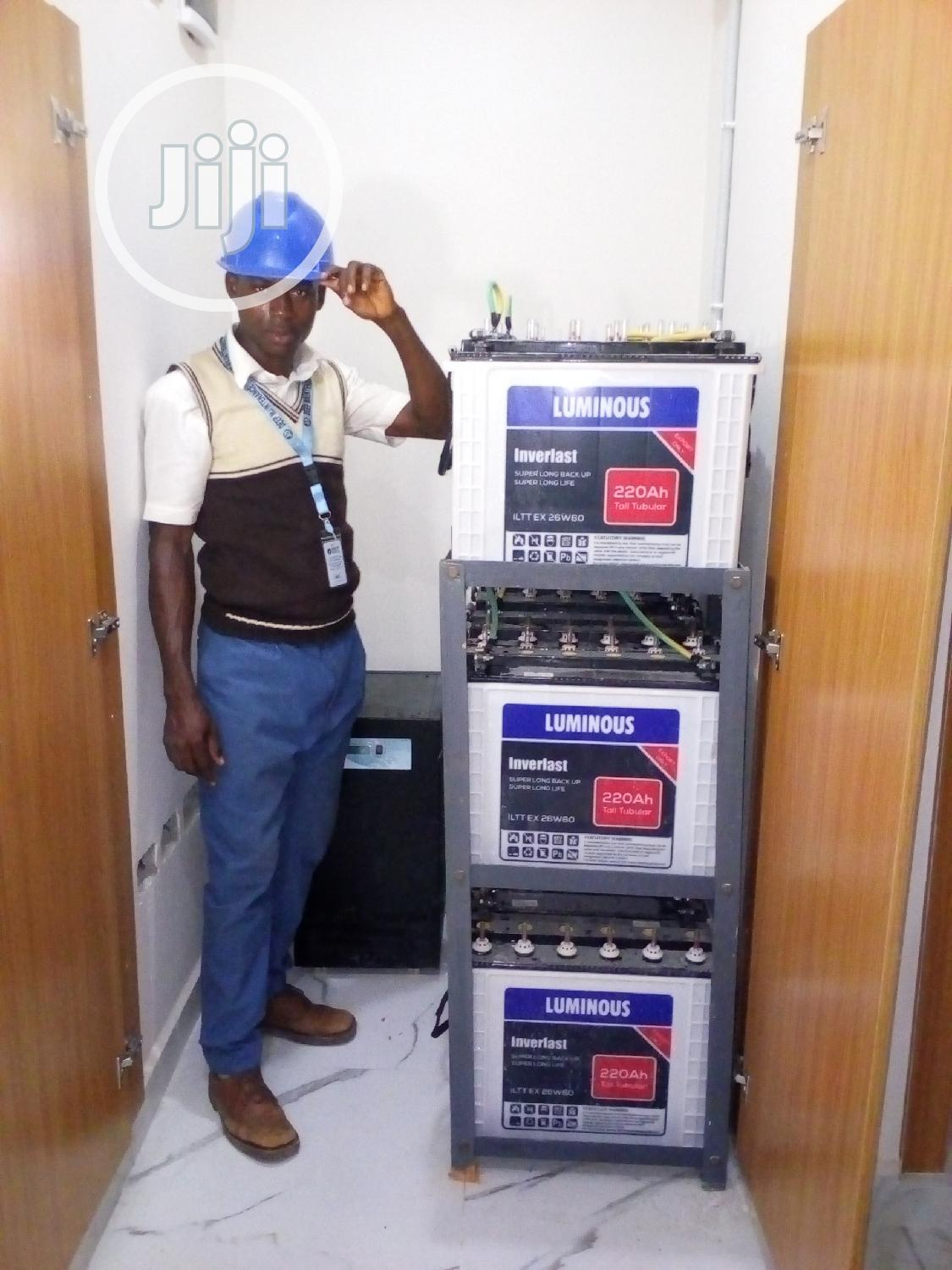 Cctv -Solar Inverter Installation and Maintemance | Building & Trades Services for sale in Central Business Dis, Abuja (FCT) State, Nigeria