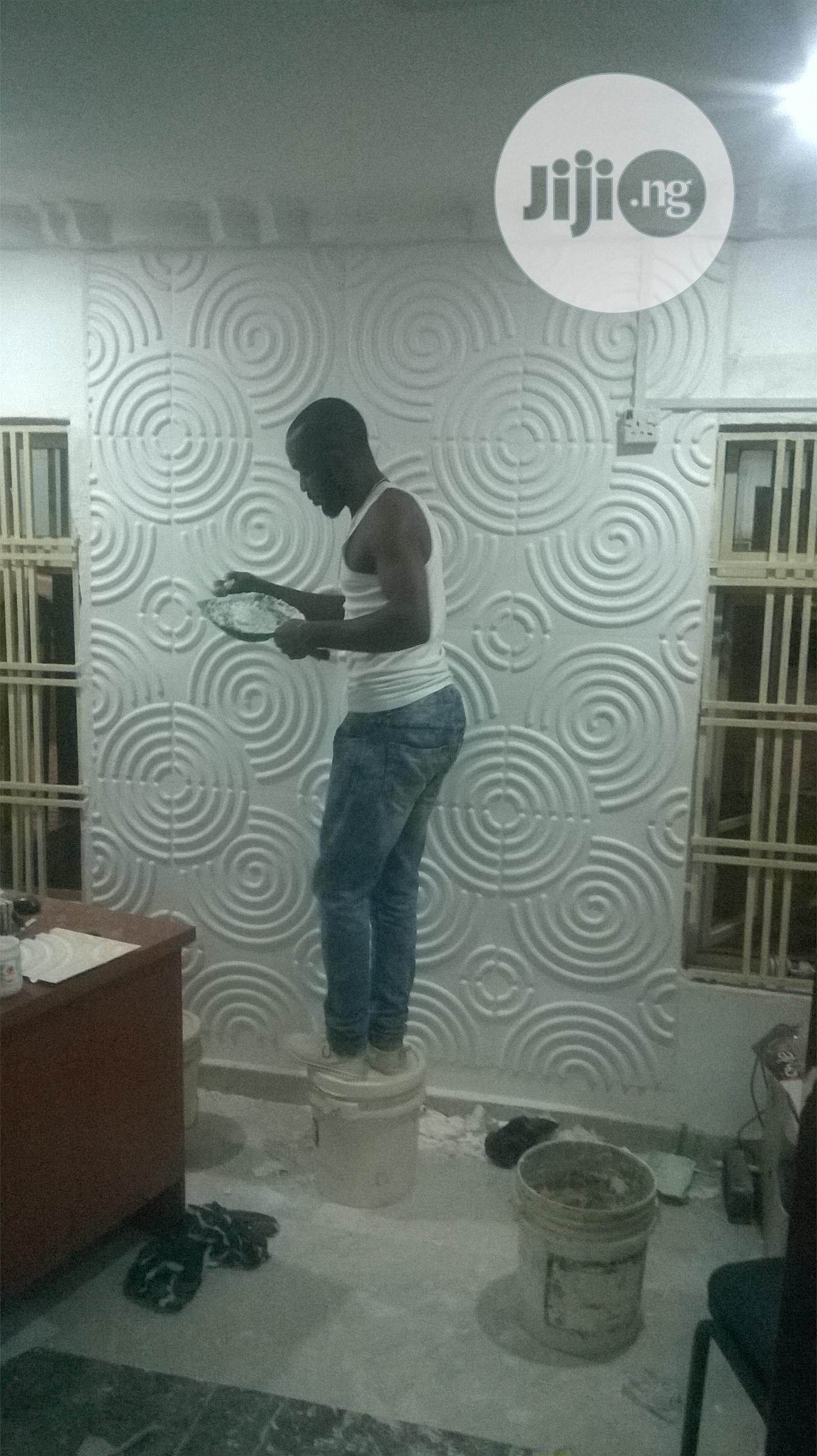 3D Wallpanels Installation