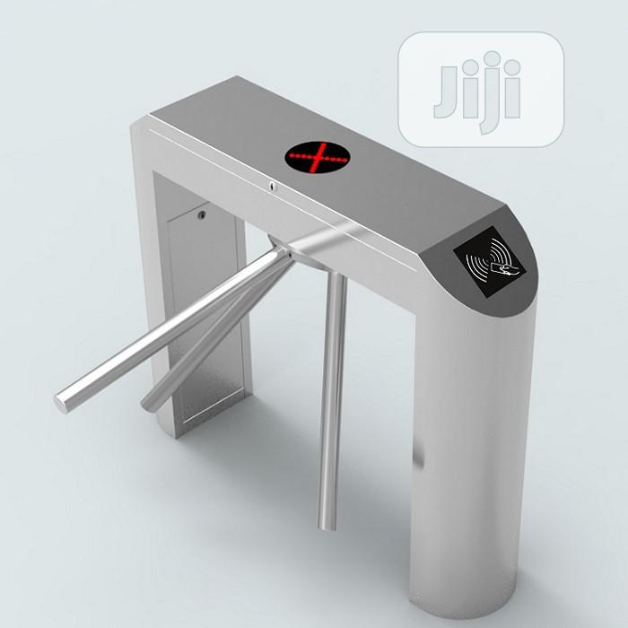 Biometric And Card Support Automatic Tripod Turnstile | Safety Equipment for sale in Ikeja, Lagos State, Nigeria