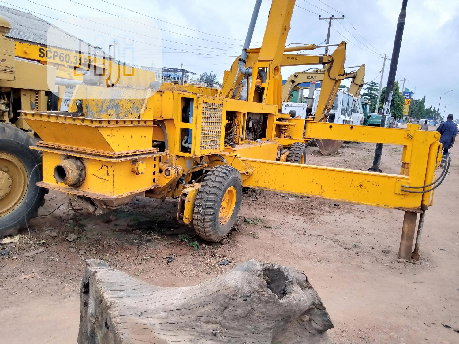 Concrete Pump (Tuna),2012 Model . | Heavy Equipment for sale in Alimosho, Lagos State, Nigeria
