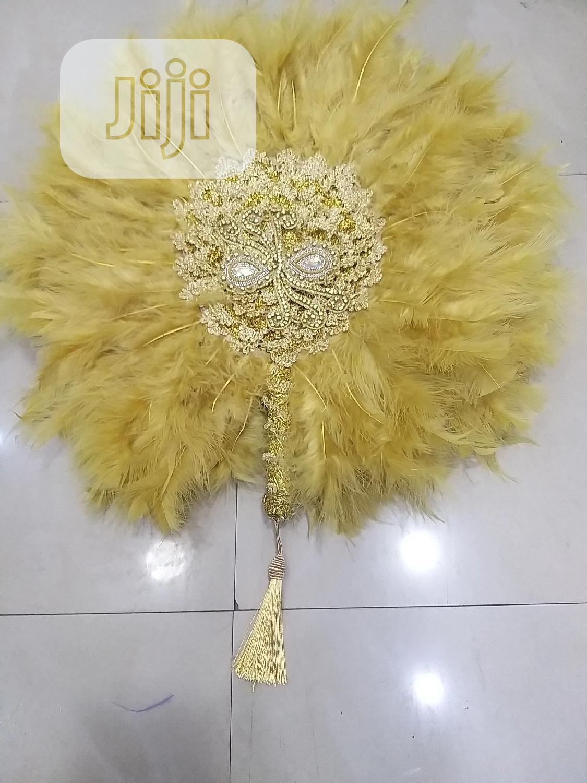 Bridal Handfan | Wedding Wear & Accessories for sale in Ifako-Ijaiye, Lagos State, Nigeria