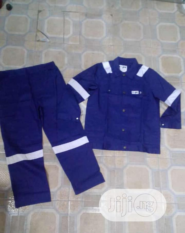 Up And Down Coverall With Reflector