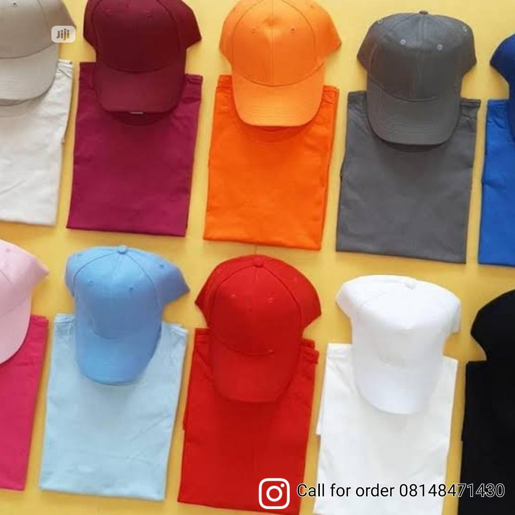 Plain Tees And Cap   Clothing Accessories for sale in Shomolu, Lagos State, Nigeria