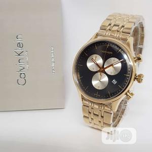 Calvin Klein (CK) Chronograph Rose Gold Chain Watch   Watches for sale in Lagos State, Lagos Island (Eko)