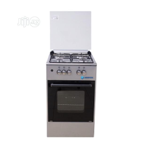 Haier Thermocool Standing Cooker My Lady 504G Og-4540 Inx | Kitchen Appliances for sale in Agege, Lagos State, Nigeria