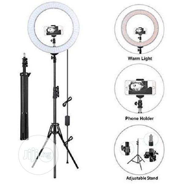 Selfie Ring Light With Tripod Stand & Cell Phone Holder