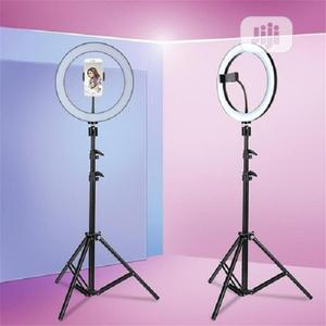 Tripod Stand With Selfie Ring Light   Accessories & Supplies for Electronics for sale in Lagos State, Ikeja
