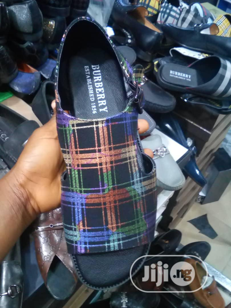 Burberry Men's Sandals | Shoes for sale in Lagos Island (Eko), Lagos State, Nigeria