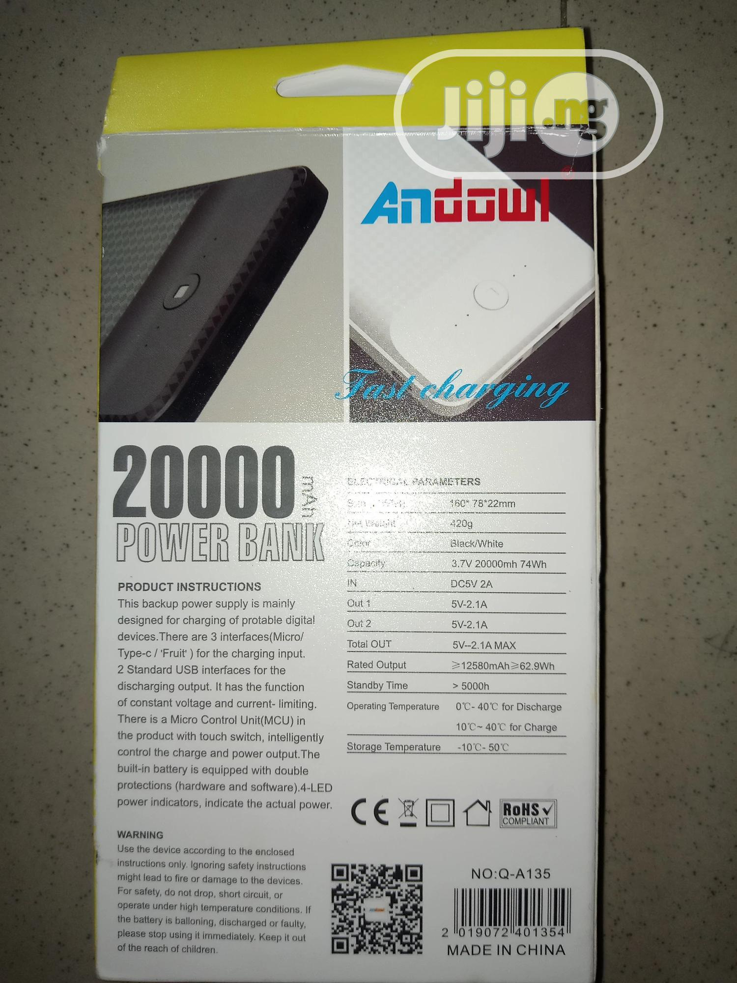 20,000amh Power Bank | Accessories for Mobile Phones & Tablets for sale in Port-Harcourt, Rivers State, Nigeria