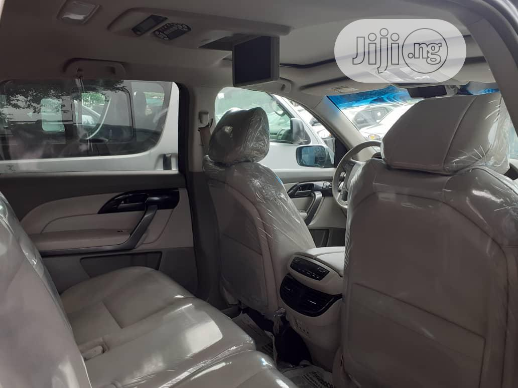 Acura MDX 2008 SUV 4dr AWD (3.7 6cyl 5A) Gray   Cars for sale in Apapa, Lagos State, Nigeria