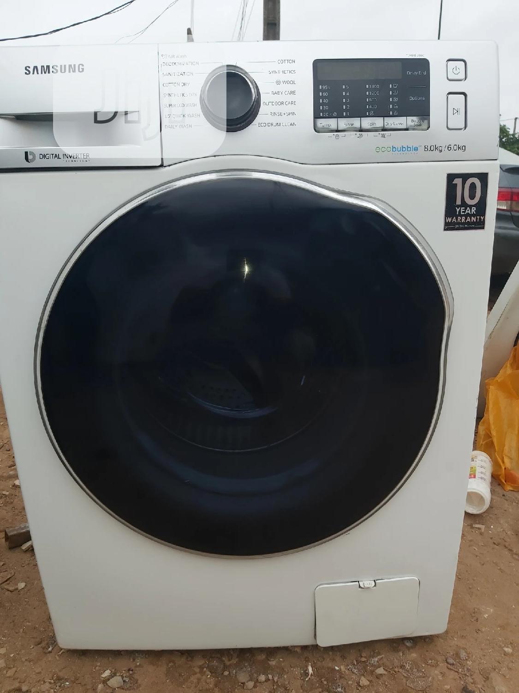 SAMSUNG 8kg+6kg Washer And Dryer