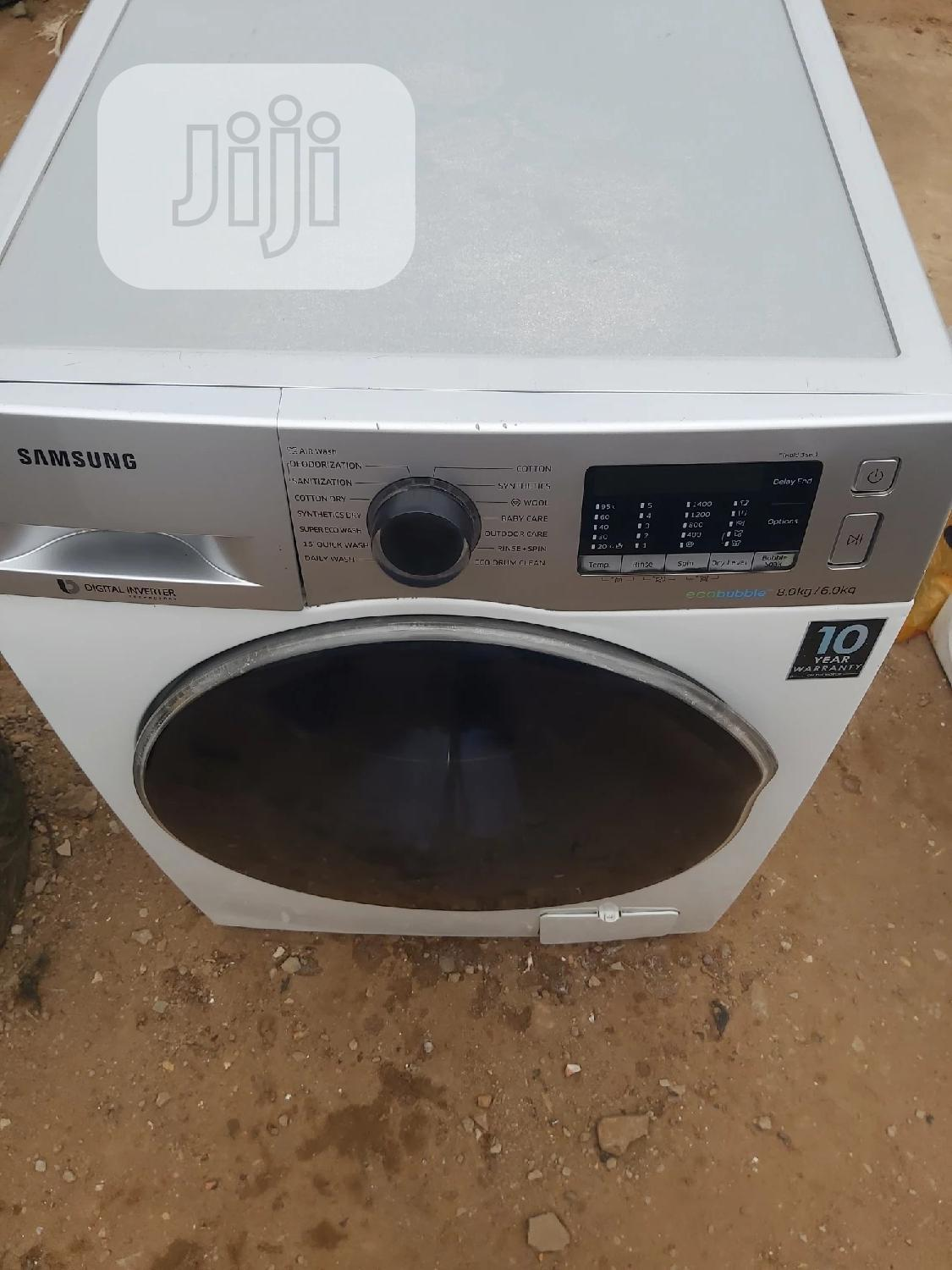 SAMSUNG 8kg+6kg Washer And Dryer | Home Appliances for sale in Ikorodu, Lagos State, Nigeria