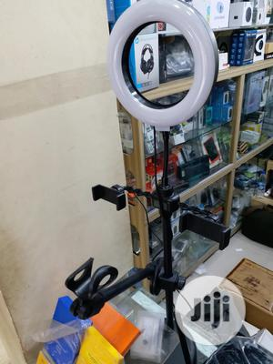 Mobile Phone Ring Light & Mic Tripod Stand   Accessories & Supplies for Electronics for sale in Lagos State, Ikeja