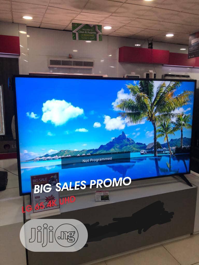 LG 65 4k UHD Internet Wifi Smart TV