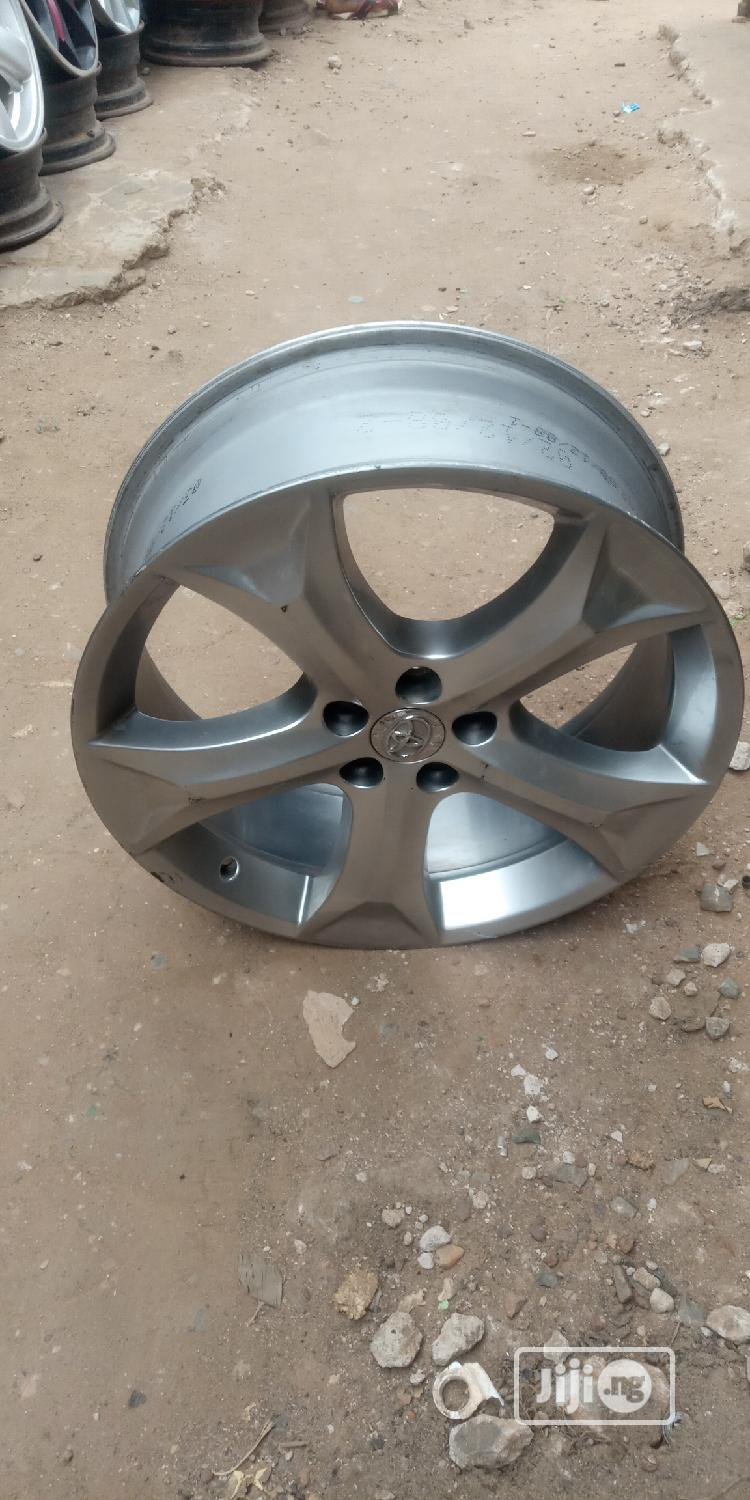 20 Rim for Toyota Venza | Vehicle Parts & Accessories for sale in Mushin, Lagos State, Nigeria
