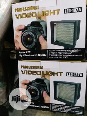 Professional Video Light LED-187A   Accessories & Supplies for Electronics for sale in Lagos State, Ikeja