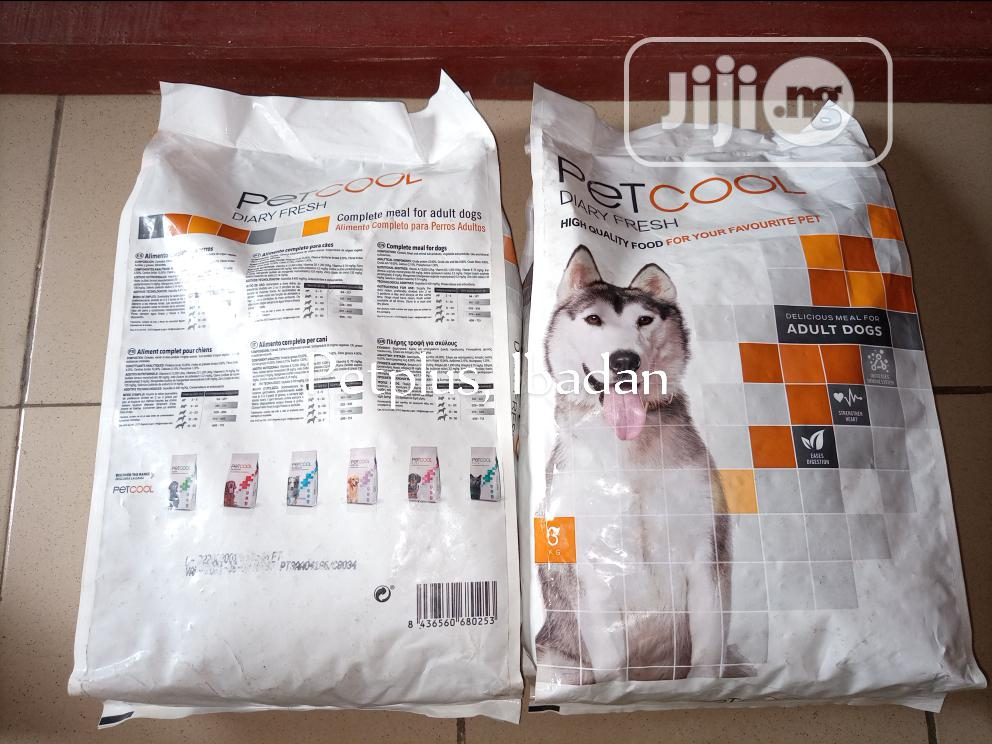 Petcool 3kg Dog Kibble | Pet's Accessories for sale in Ibadan, Oyo State, Nigeria