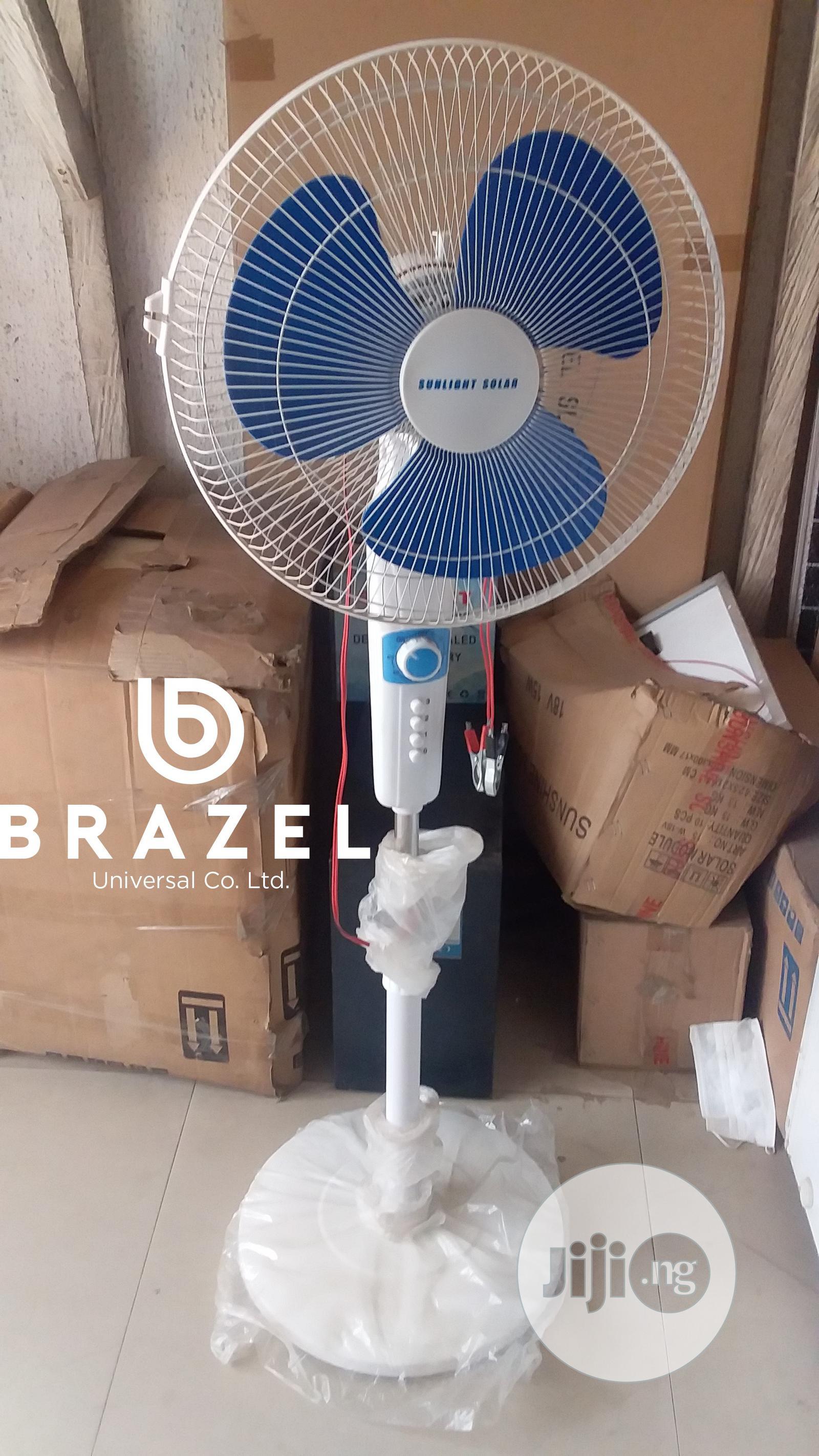 Brazel Sunshine Solar Fan