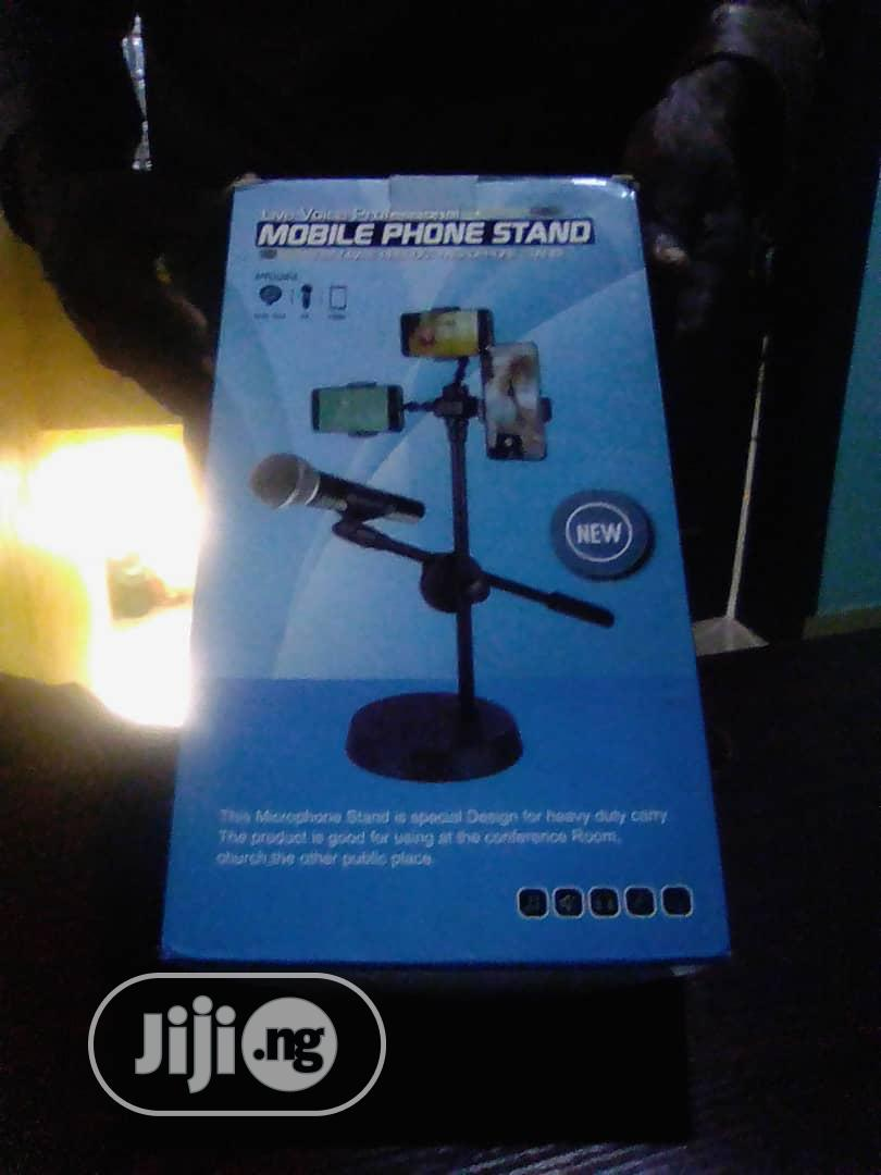 Archive: Mobile Phone Ring Light & Mic Tripod Stand