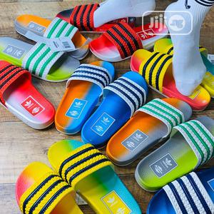 Quality Italian Adidas Arizona Slide Palm | Shoes for sale in Lagos State, Surulere