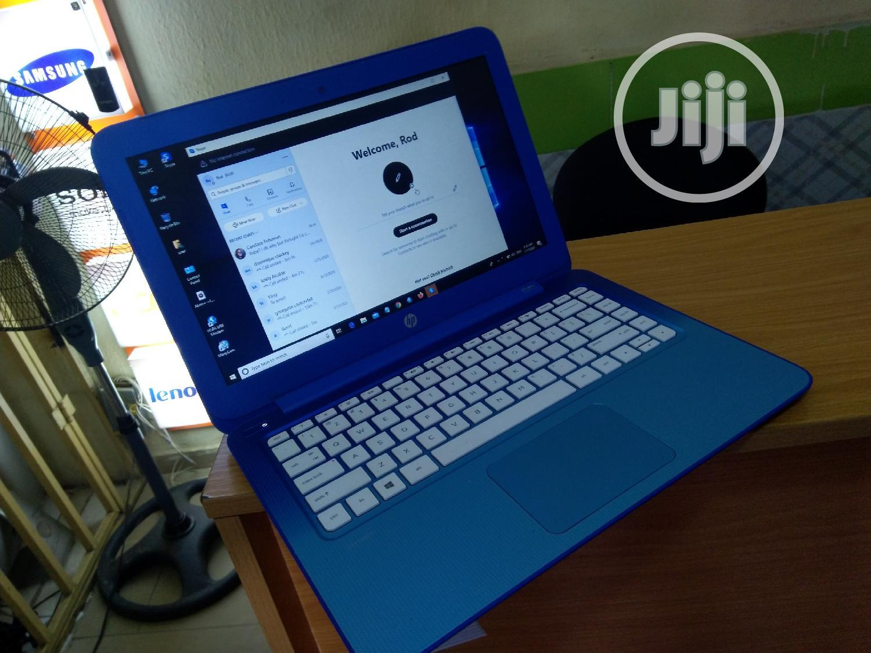Laptop HP Stream 14 2GB Intel Celeron SSD 32GB | Laptops & Computers for sale in Garki 2, Abuja (FCT) State, Nigeria