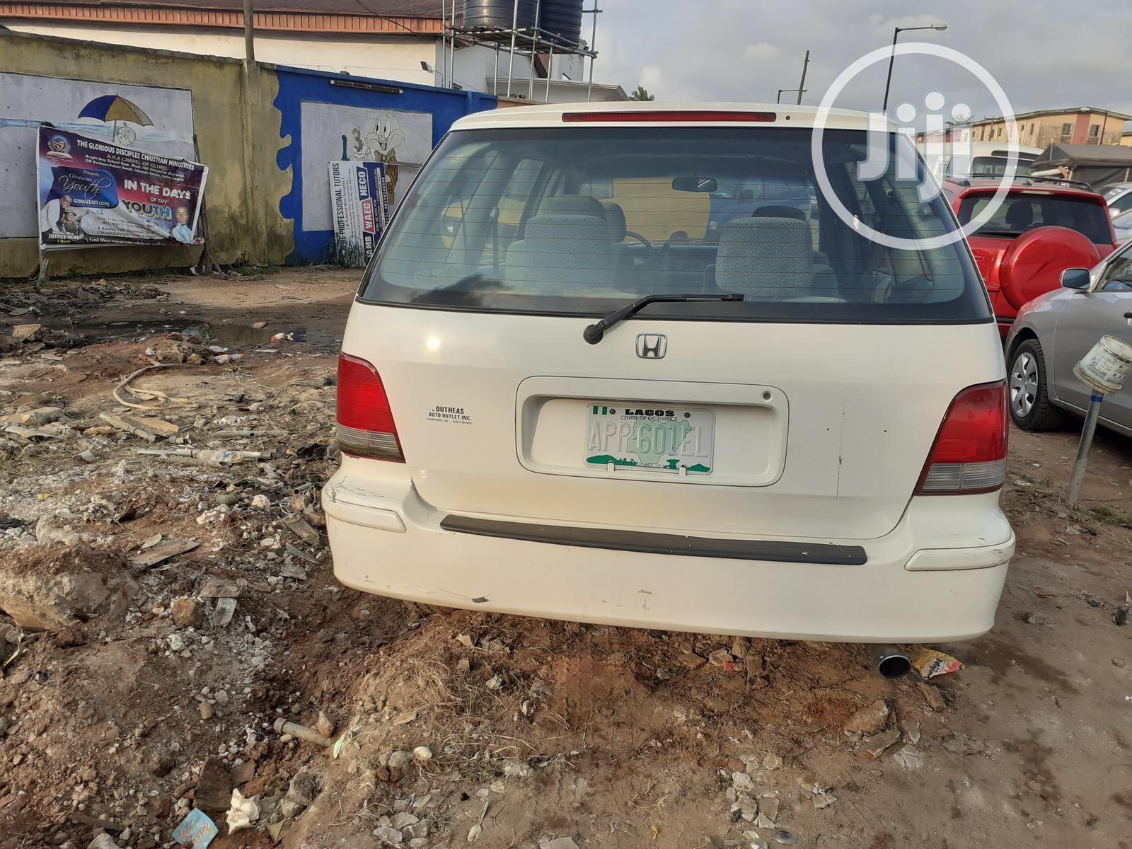 Honda Shuttle 1997 White   Cars for sale in Isolo, Lagos State, Nigeria