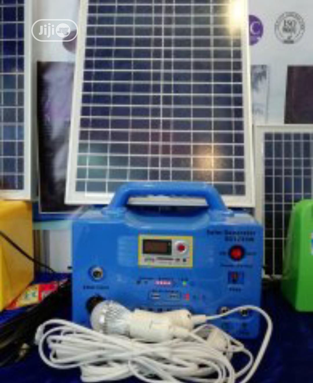 30watts Solar Generator