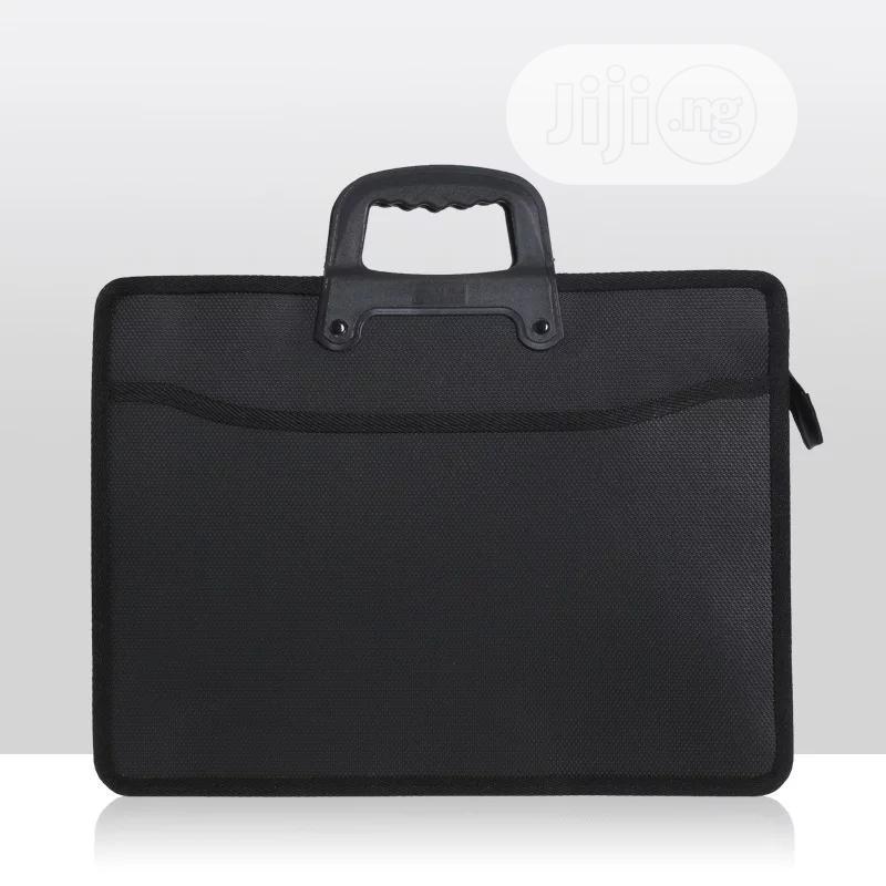 Fashion File Bag Portable Briefcase Men Business Office Bag