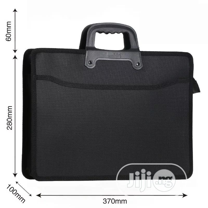 Fashion File Bag Portable Briefcase Men Business Office Bag | Bags for sale in Lagos Island (Eko), Lagos State, Nigeria